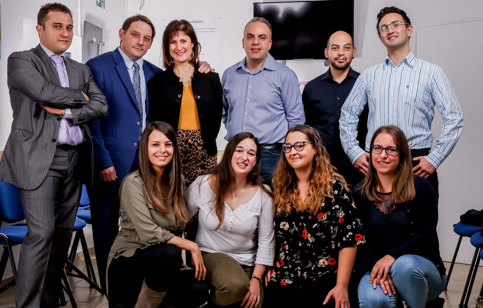Équipe de médecins et secrétaires de BEVA Médical